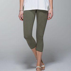 Lululemon Wunder Under Crop Legging *Denim Green